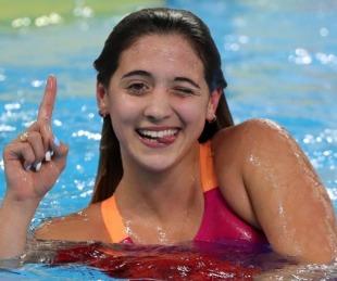 foto: Delfina Pignatiello puso en duda su presencia en los Juegos Olímpicos