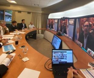 foto: Valdés viajó a Capital Federal para reunirse con el Presidente