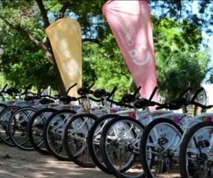 foto: Se habilita el servicio de bicicletas gratuitas en Punta Tacuara