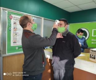 foto: Covid-19: Dpec cumple con un riguroso protocolo para cuidar a su personal