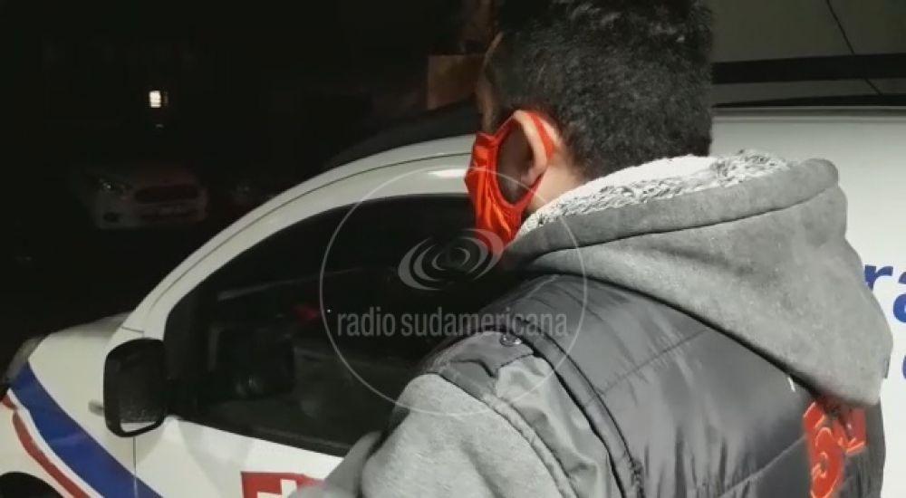 foto: Camarógrafo de Canal 5TV salvó a una mujer de ser asaltada