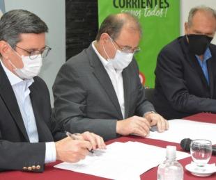 foto: Municipio y Seguridad firmaron convenio para instalar cámaras