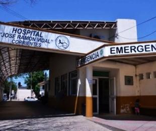 foto: La mujer que se prendió fuego fue trasladada al Hospital Vidal