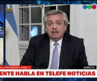 foto: Tenso cruce entre el Presidente y Cristina Pérez en una entrevista