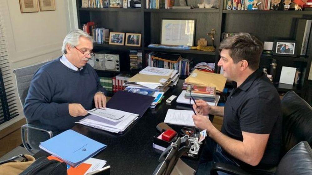 Alberto Fernández y Delgado analizaron el caso Vicentin
