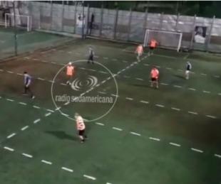 foto: ¿Fútbol con distancia social? Esta nueva modalidad ya causa furor