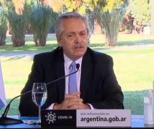 foto: Fernández anunció que Buenos Aires volverá a Fase 1