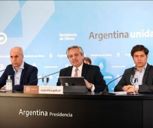 foto: Cuarentena: Expectativa por los anuncios que hará Fernández