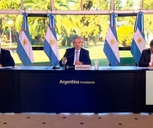 foto: Fernández prepara un plan económico y negocia con el FMI