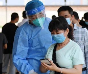 foto: China: encerraron a medio millón de personas por un posible rebrote