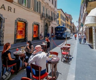 Italia: en plena reapertura, sube el número de muertes registradas