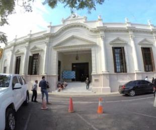 foto: Cerraron la Legislatura provincial por un caso sospechoso de Covid