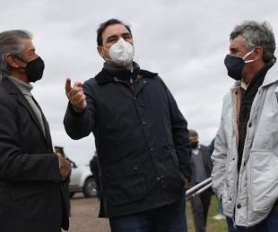 foto: Valdés inauguró diez kilómetros de ripio en la Ruta Provincial 16