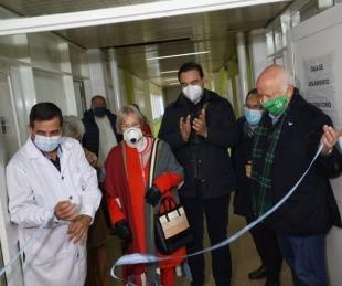 foto: Valdés inauguró una sala para pacientes con Covid19 en Goya