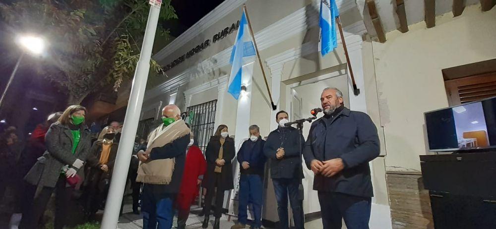 El Gobernador habilitó en Goya la Estación Transformadora Oeste