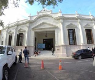 foto: Covid: Dio negativo el hisopado al caso sospechoso de la Legislatura
