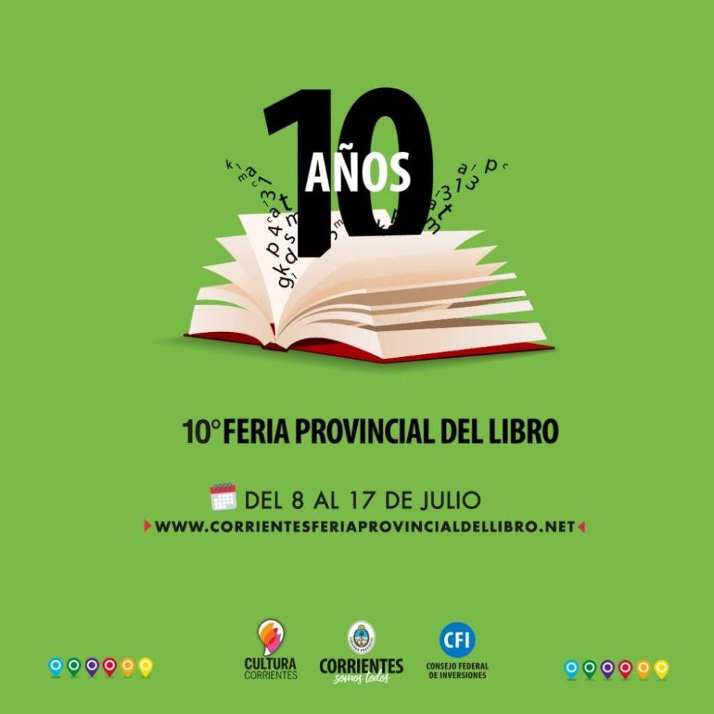 Corrientes lanza la 10° Feria Provincial del Libro