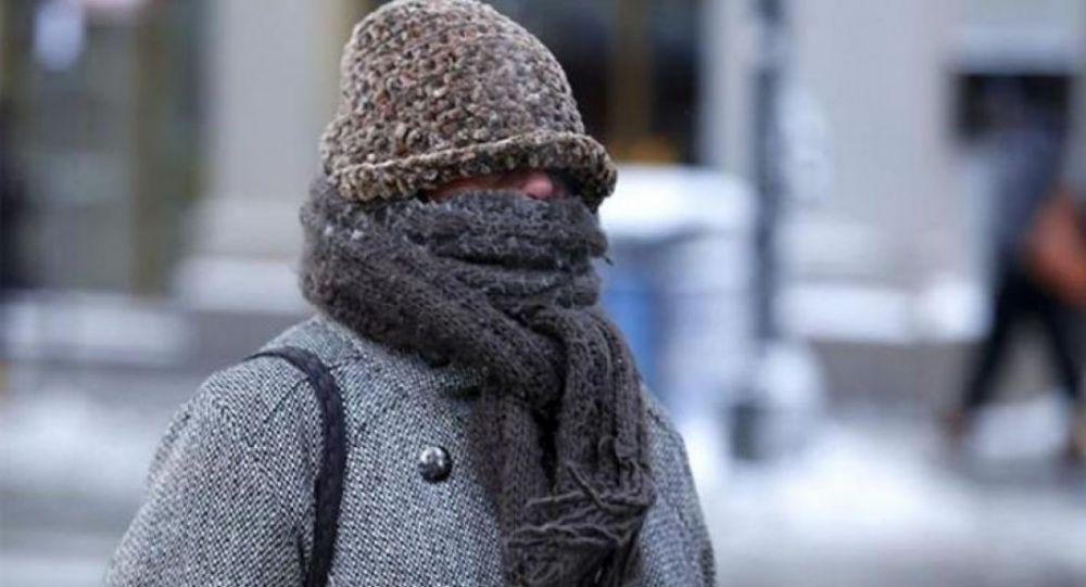 A abrigarse bien ¡hace mucho frío!: la temperatura llegó a los 3.2°C