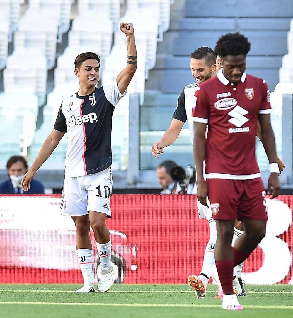Con golazos de Dybala y Cristiano, Juventus goleó y sigue arriba