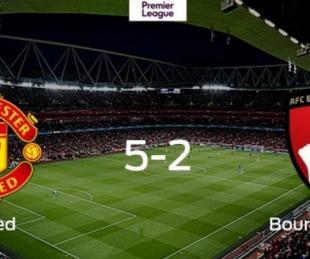 foto: Manchester United goleó y llegó al cuarto puesto de la Premier
