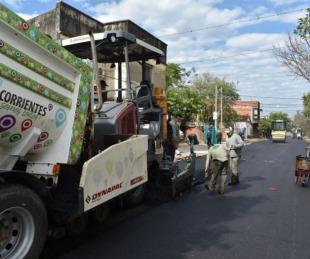 foto: Vialidad concluye calle Roca y repavimenta plaza Libertad