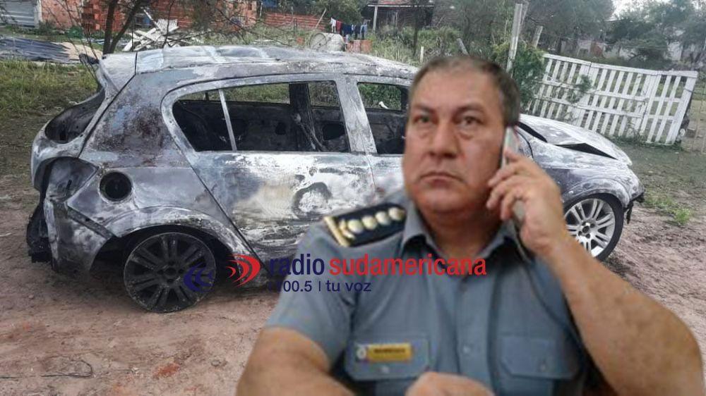 Barboza: Habrían incendiado el auto para ocultar el siniestro