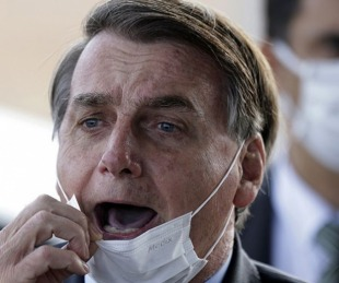 foto: Brasil: Jair Bolsonaro confirmó que dio positivo a coronavirus
