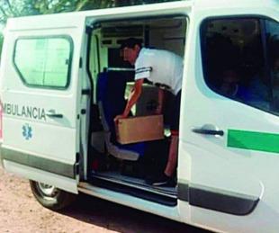 foto: Santiago del Estero: usaban una ambulancia para llevarle fernet