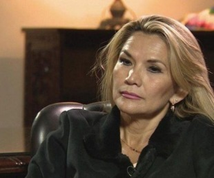 foto: Bolivia: la presidente Jeanine Añez confirmó que tiene coronavirus