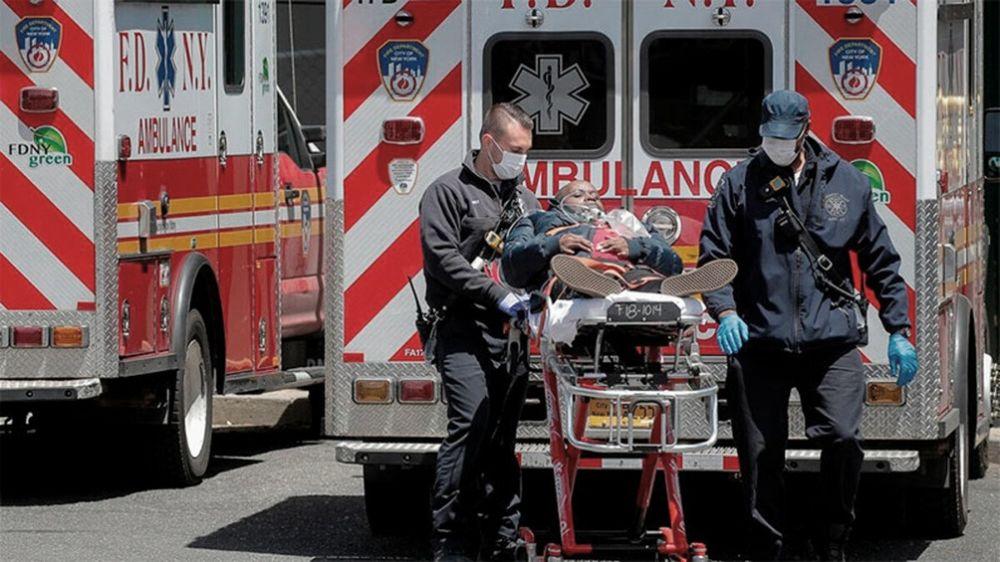 Desbordado, Estados Unidos supera los 3 millones de casos de COVID-19