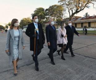foto: Valdés encabezó acto del 9 de Julio e inaugura el Hospital de Campaña