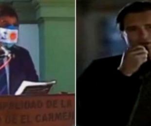 foto: Un intendente copió el discurso de la película Día de la Independencia