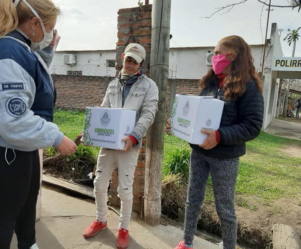 Goya: desde el lunes comienza la entrega de módulos alimentarios en diferentes barrios