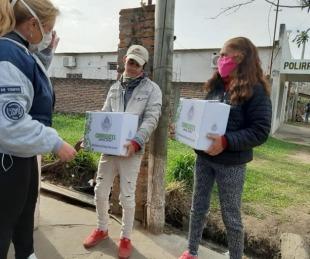 foto: Goya: desde el lunes comienza la entrega de módulos alimentarios en diferentes barrios