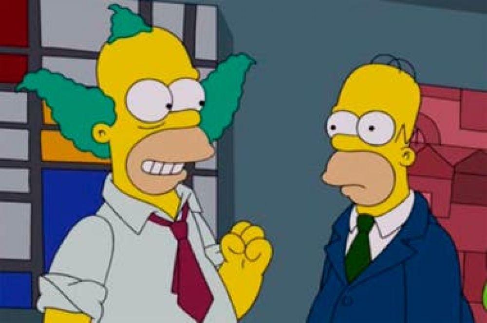 El secreto de Los Simpson: ¿por qué Homero y Krusty son idénticos?