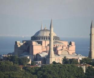 foto: Francisco criticó la reconversión de Santa Sofía en mezquita