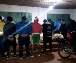 foto: Organizaron un campeonato de fútbol y todos fueron detenidos