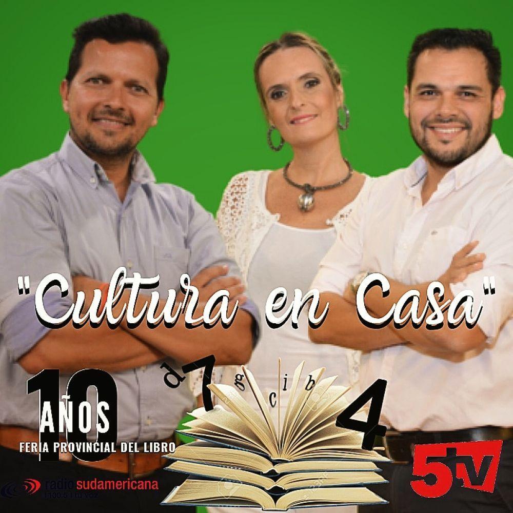 Viví Cultura en Casa por Radio Sudamericana y Canal 5TV