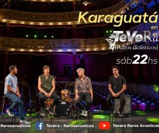 foto: Karaguatá y su rock litoraleño llegan a Tevera-Raros Acústicos