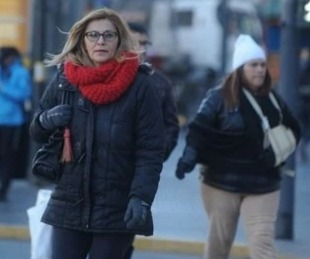 foto: Monte Caseros la ciudad más fría con temperaturas bajo cero