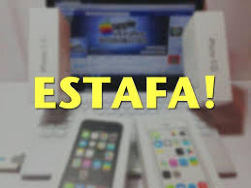 Le ofrecieron un Iphone 8 por 42 mil pesos y terminó estafada
