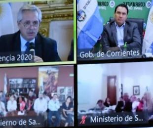 foto: Nación asistió a Corrientes con 11 mil millones de pesos por el Covid