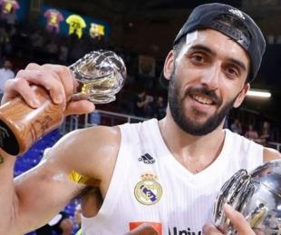 foto: Facundo Campazzo se iría del Real Madrid para jugar en la NBA