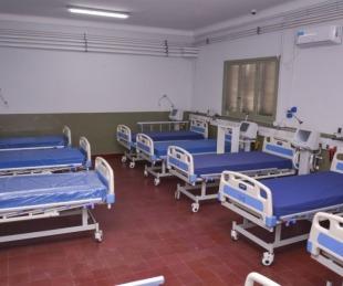 foto: Covid: Hay seis pacientes internados en Hospital de Campaña
