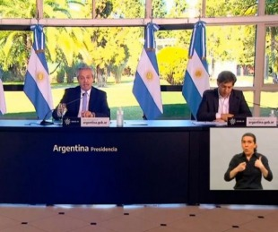 foto: Fernández prepara el anuncio sobre la nueva etapa de la cuarentena