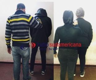 foto: Robo a farmacias: aprehendieron a conocida pareja de arrebatadores