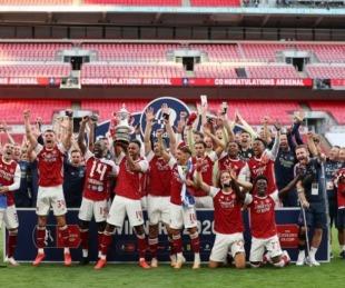 foto: FA Cup: Arsenal remontó el partido ante Chelsea y salió campeón