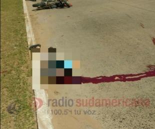 foto: Accidente: dos heridos graves por una colisión sobre calle Medrano