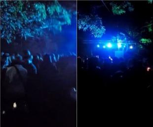 foto: Fiesta ilegal con 295 personas: la fiscal indicó que habría cuatro imputados por la causa