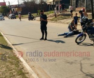 foto: Grave accidente: un motociclista murió y otro perdió un brazo
